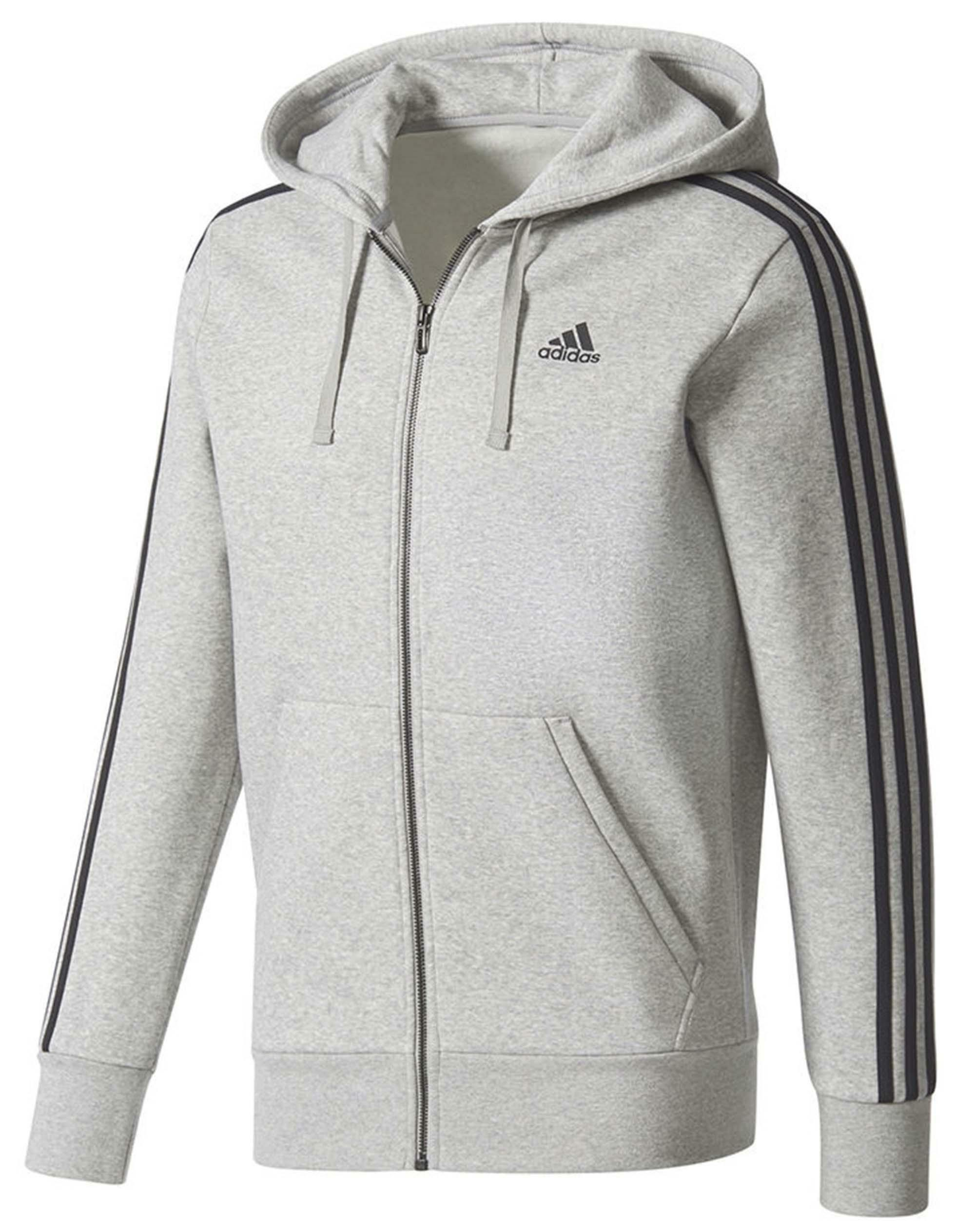adidas adidas ess 3s giacchetto uomo grigio cf5056