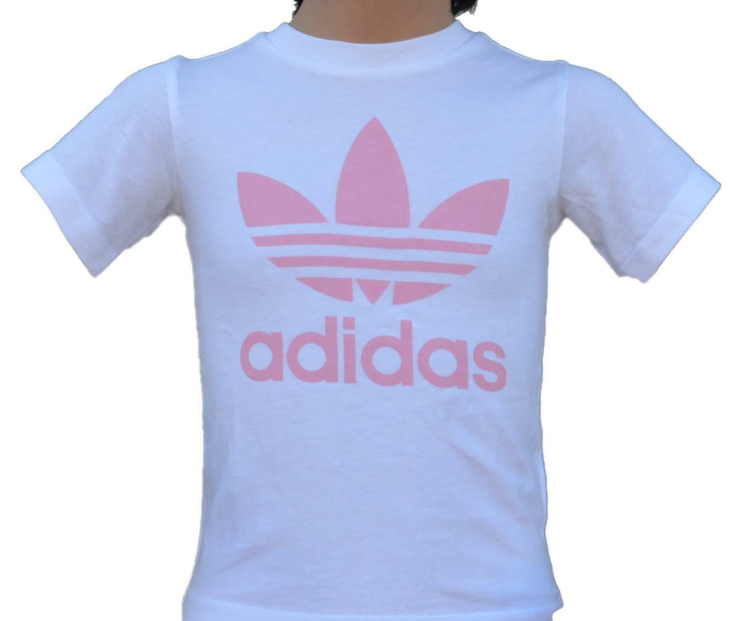 t shirt bambina adidas