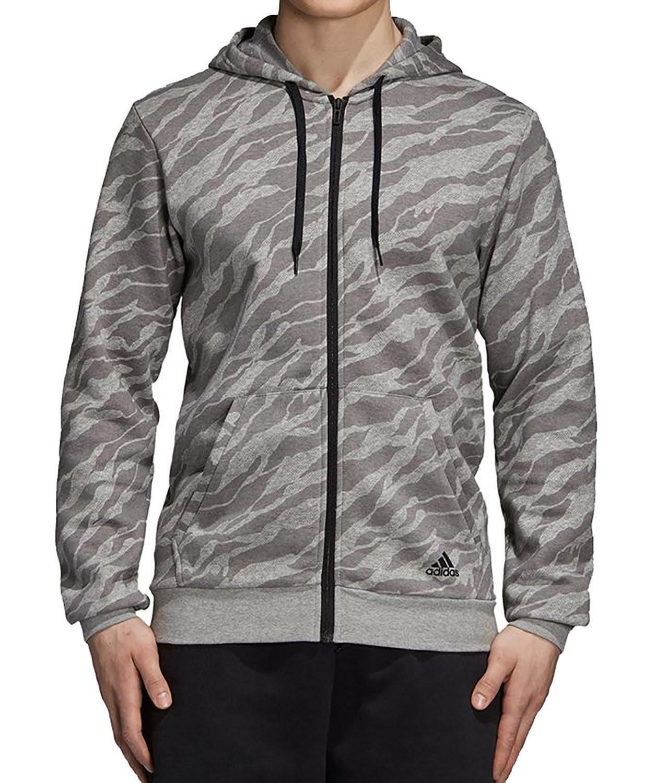Para Adidas Cy6313 Ess Gris Hombre Chaqueta Ebay Polar Aop zZTqzX