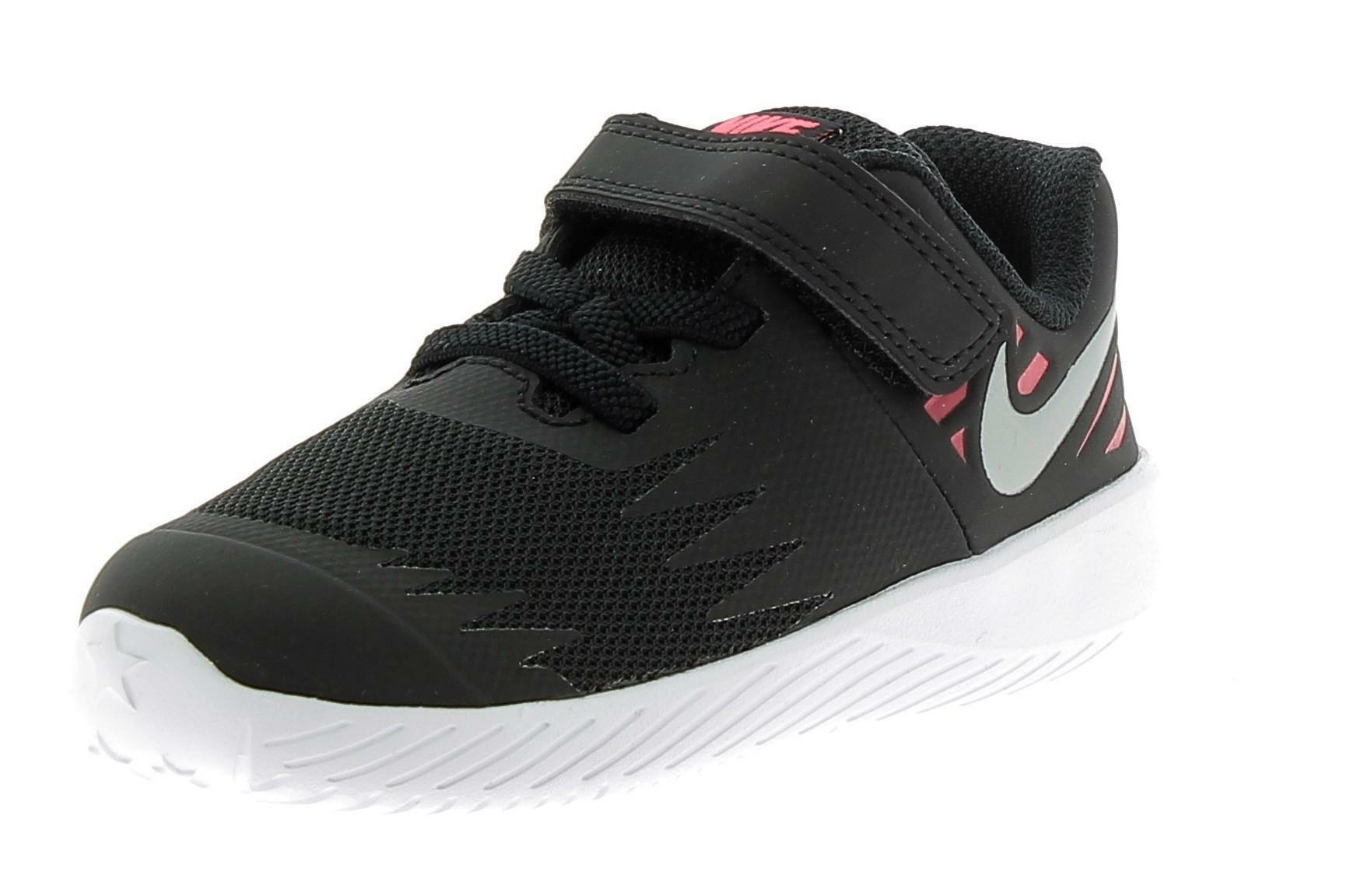 nike nike star runner tdv scarpe sportive bambina nere 907256004