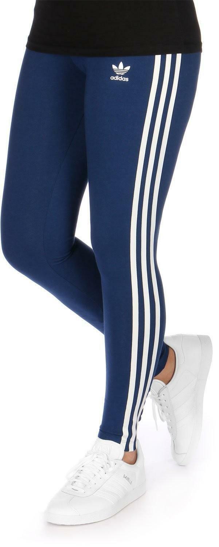 adidas adidas originals 3 s leggings donna blu