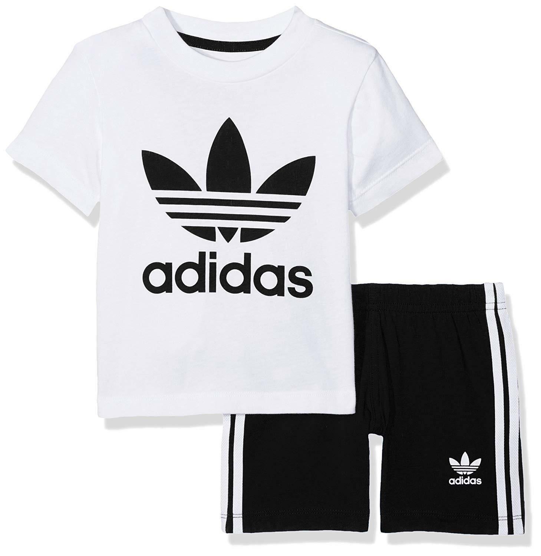adidas adidas i short tee set completino bambino ce1993