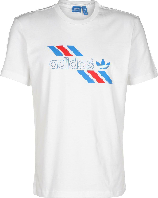 adidas originals adidas t-shirt uomo bianca