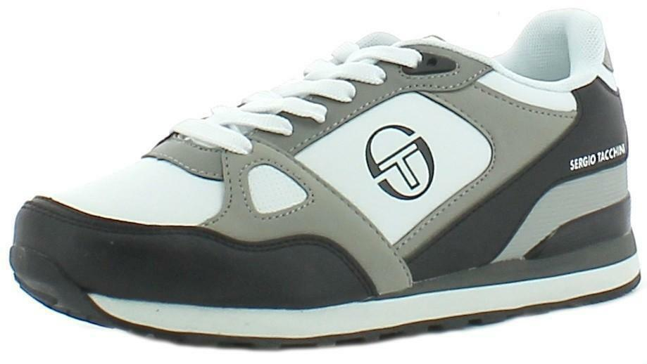 the latest 3d6b4 7e231 Details about Tacchini Sergio Men's Leather Sports Shoes