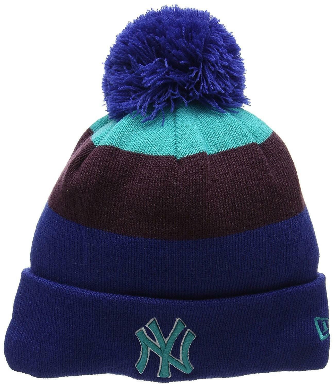 new era new era blockstripe cappello uomo blu