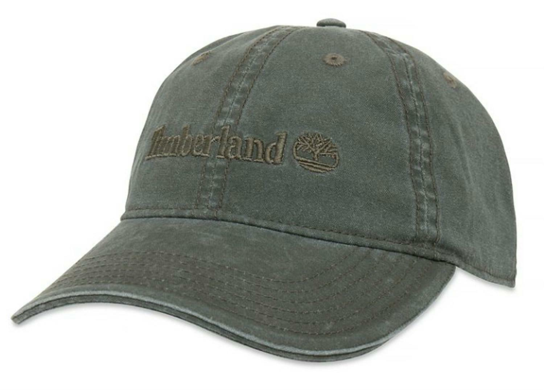 timberland timberland canvas baseball cappello uomo verde