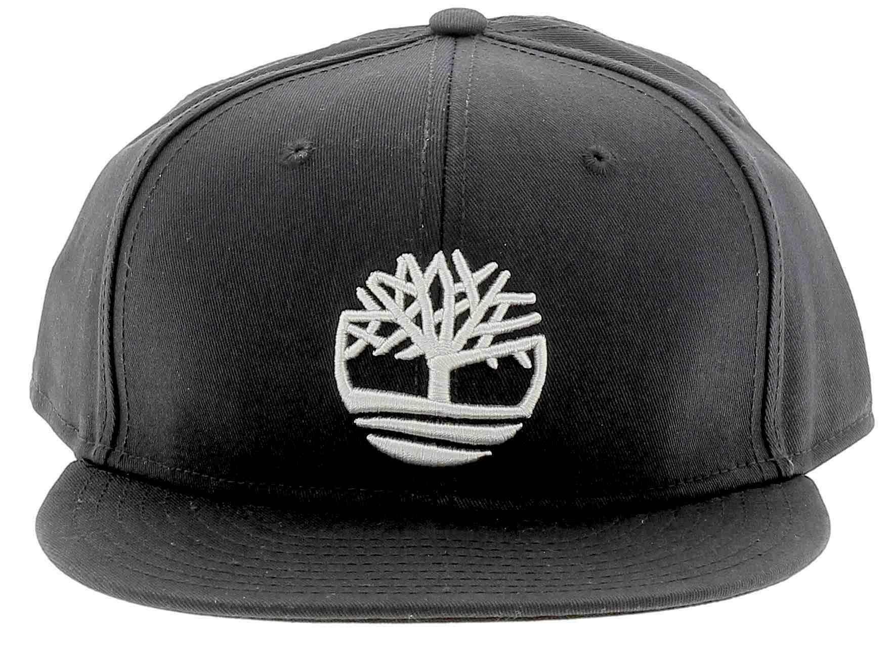 timberland timberland cotton twill flat cappello uomo nero