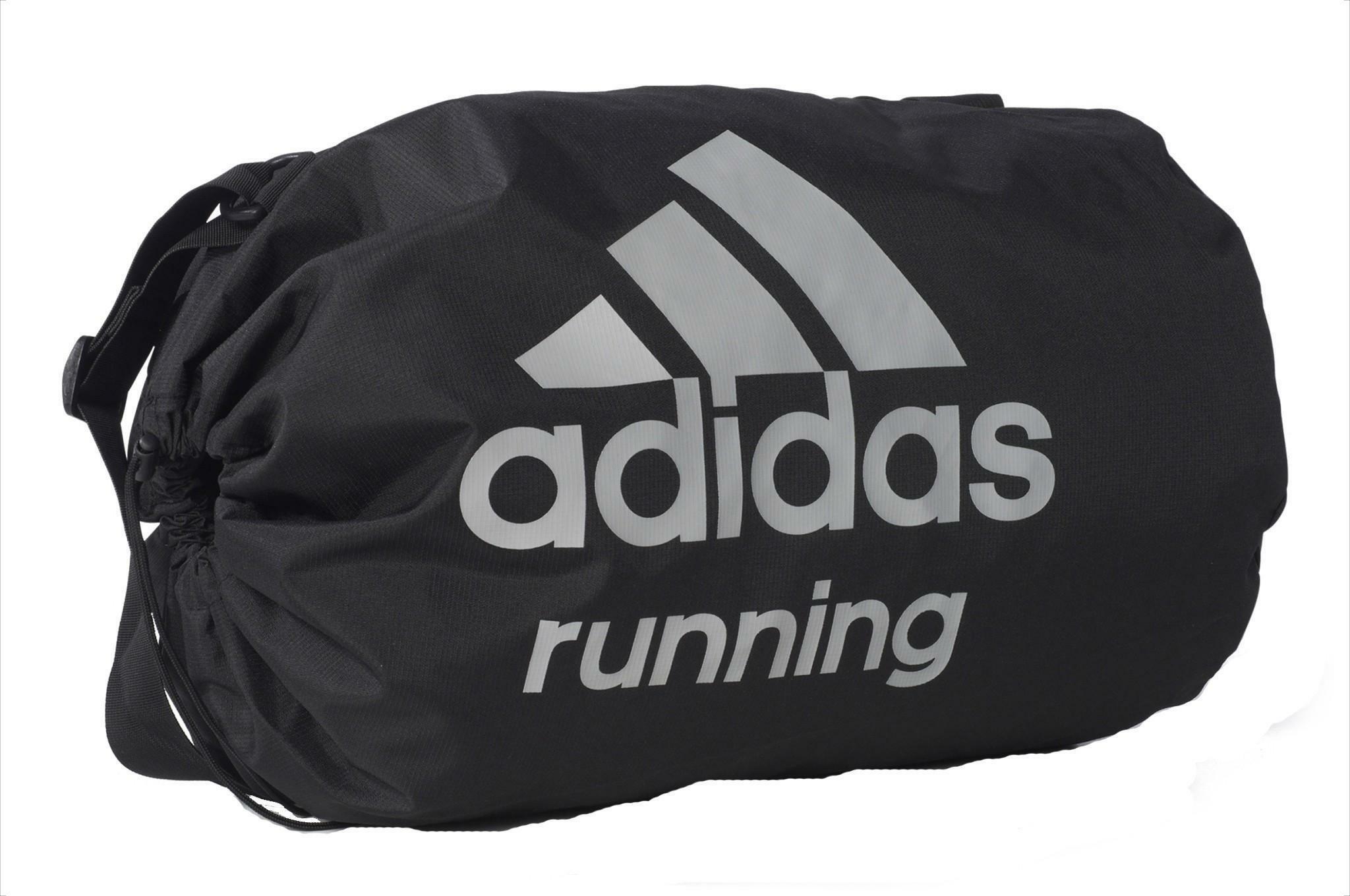 adidas adidas run bag borsone nero