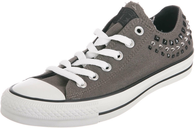 converse ct ox charcoal scarpe sportive grigie 542421c