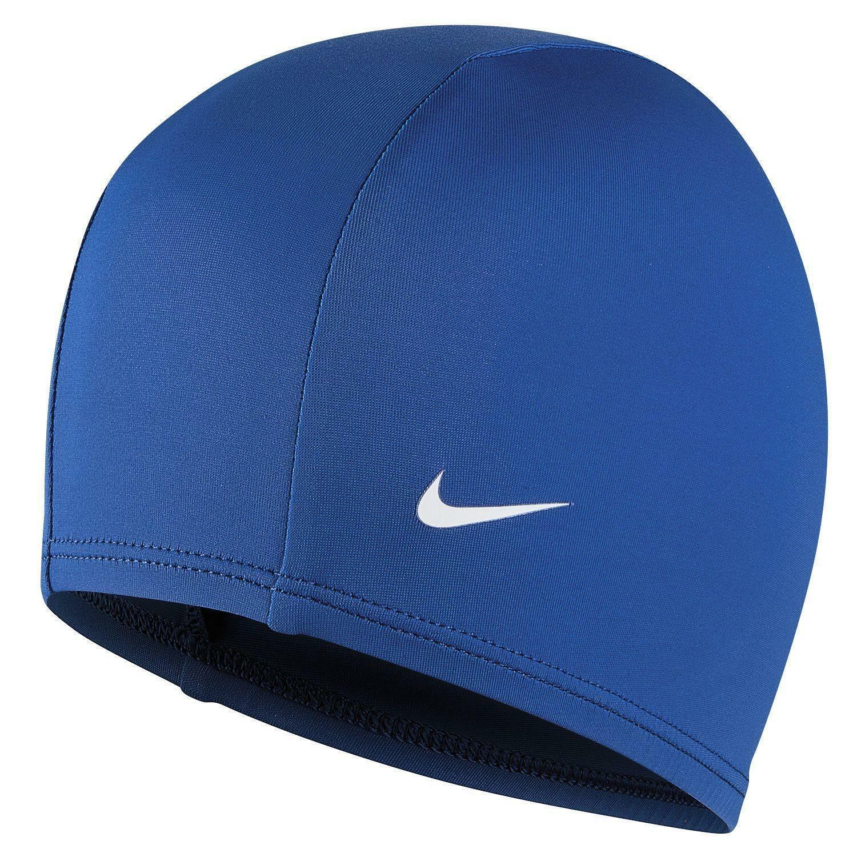 nike nike synthetic swim cap cuffia piscina blu 93065494