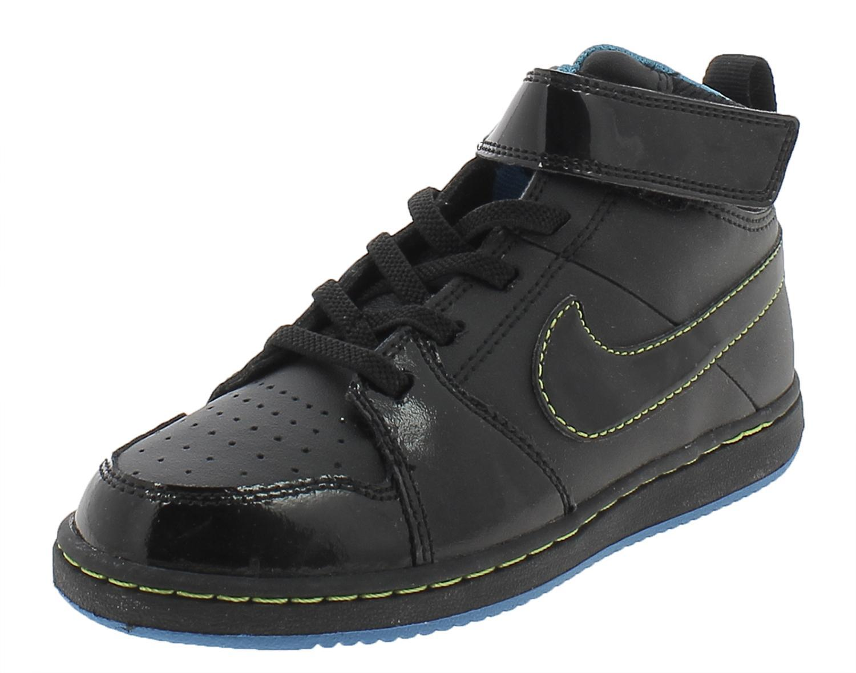 nike backboard 2 mid scarpe sneakers alte hi nere black junior