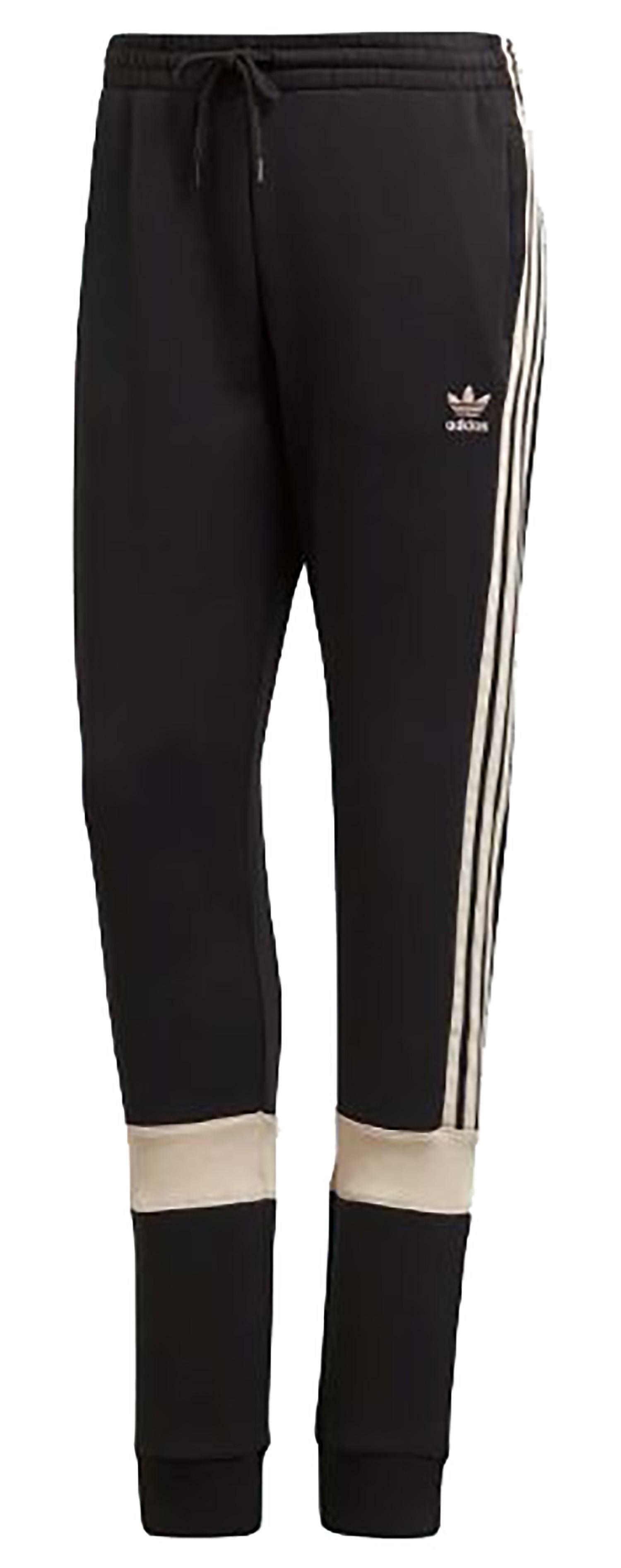 adidas adidas track pantaloni tuta donna neri dh4212