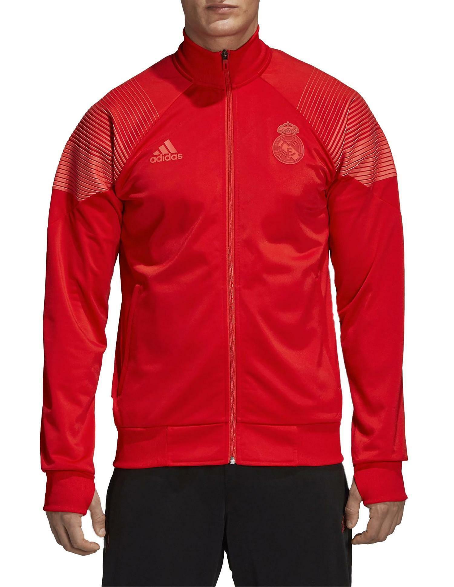 adidas adidas giacchetto real madrid rosso uomo 2018/2019 cw8705