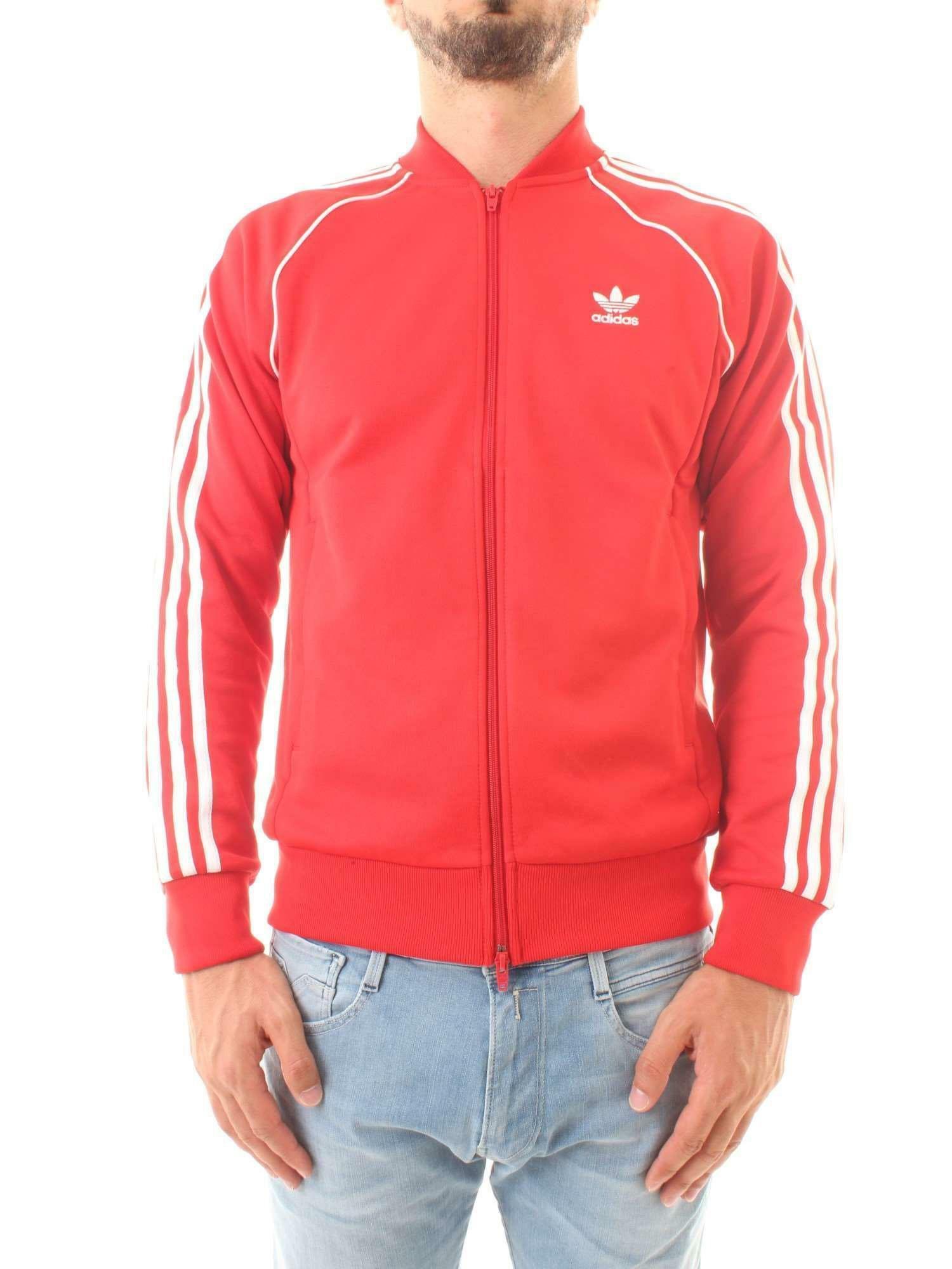 adidas adidas giacchetto uomo rosso dh5824
