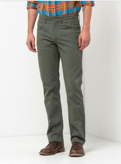 lee lee jeans uomo arvin  cotone verde scuro