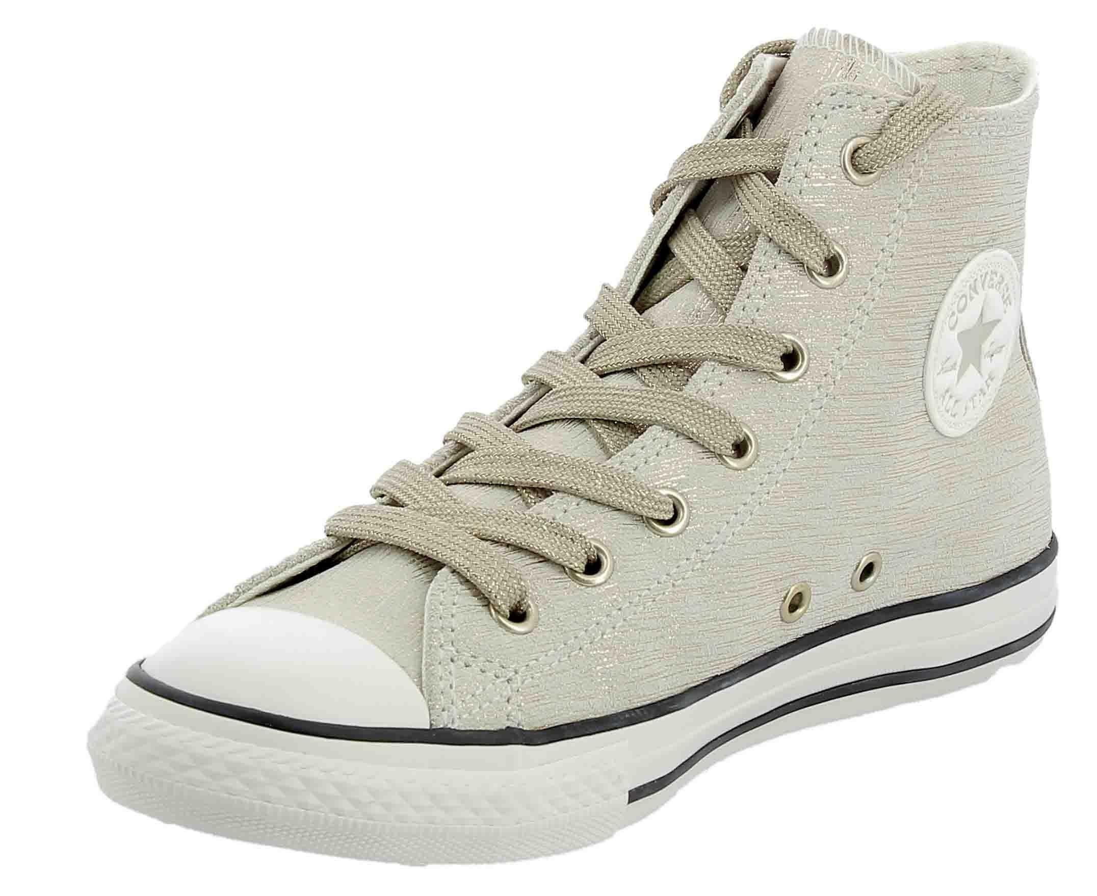 converse converse ctas hi scarpe sportive donna oro tela 662798c