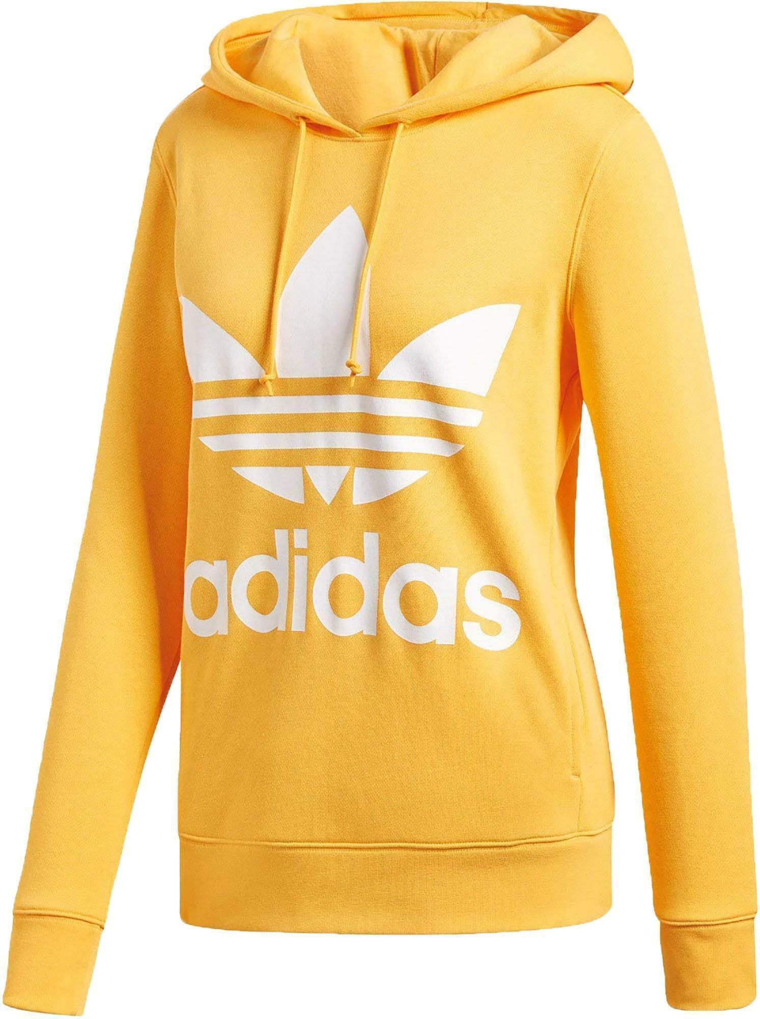 felpa gialla adidas