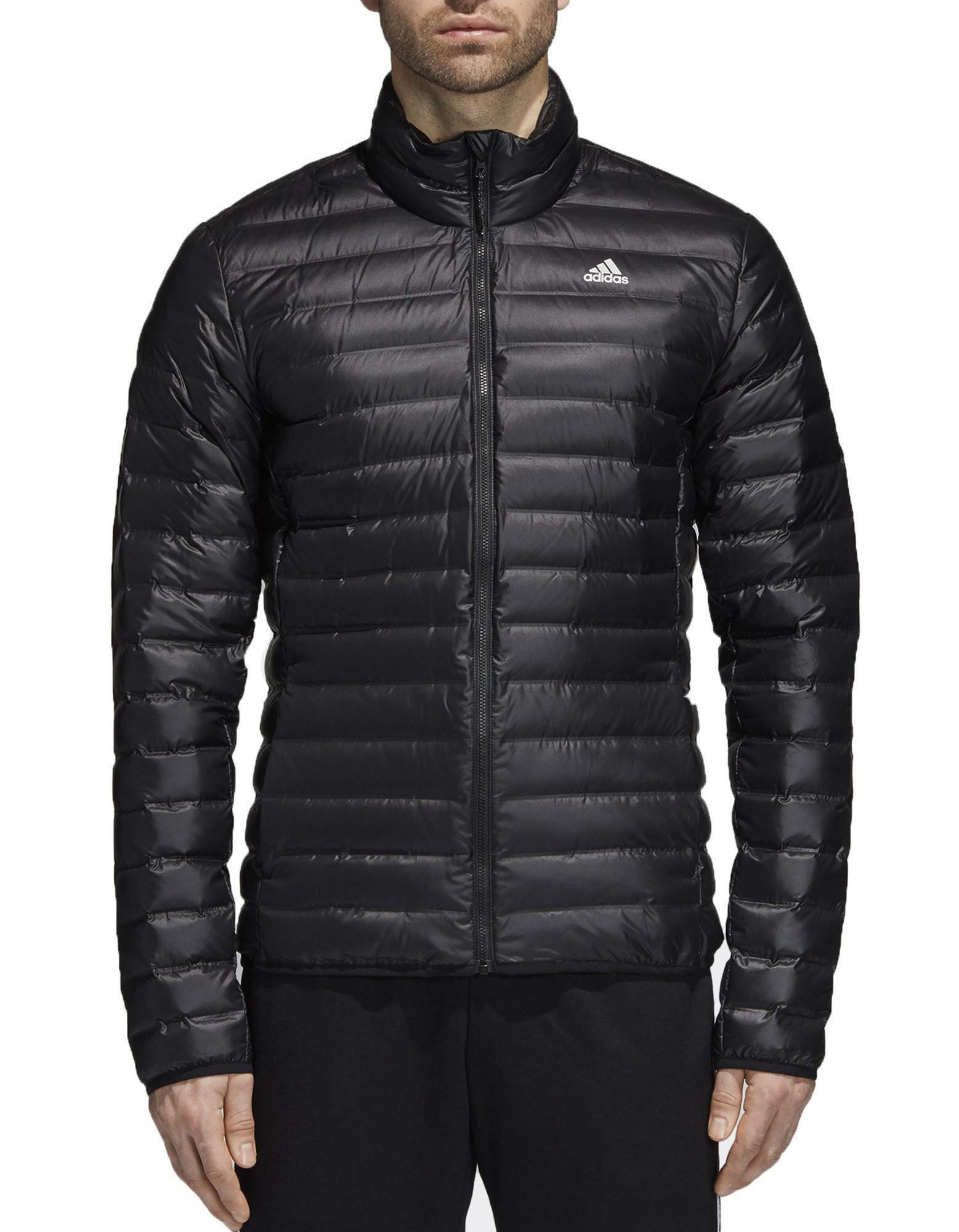 timeless design 4d36f 89137 Adidas w varilite giacca piumino 100 grammi uomo nero bs1588