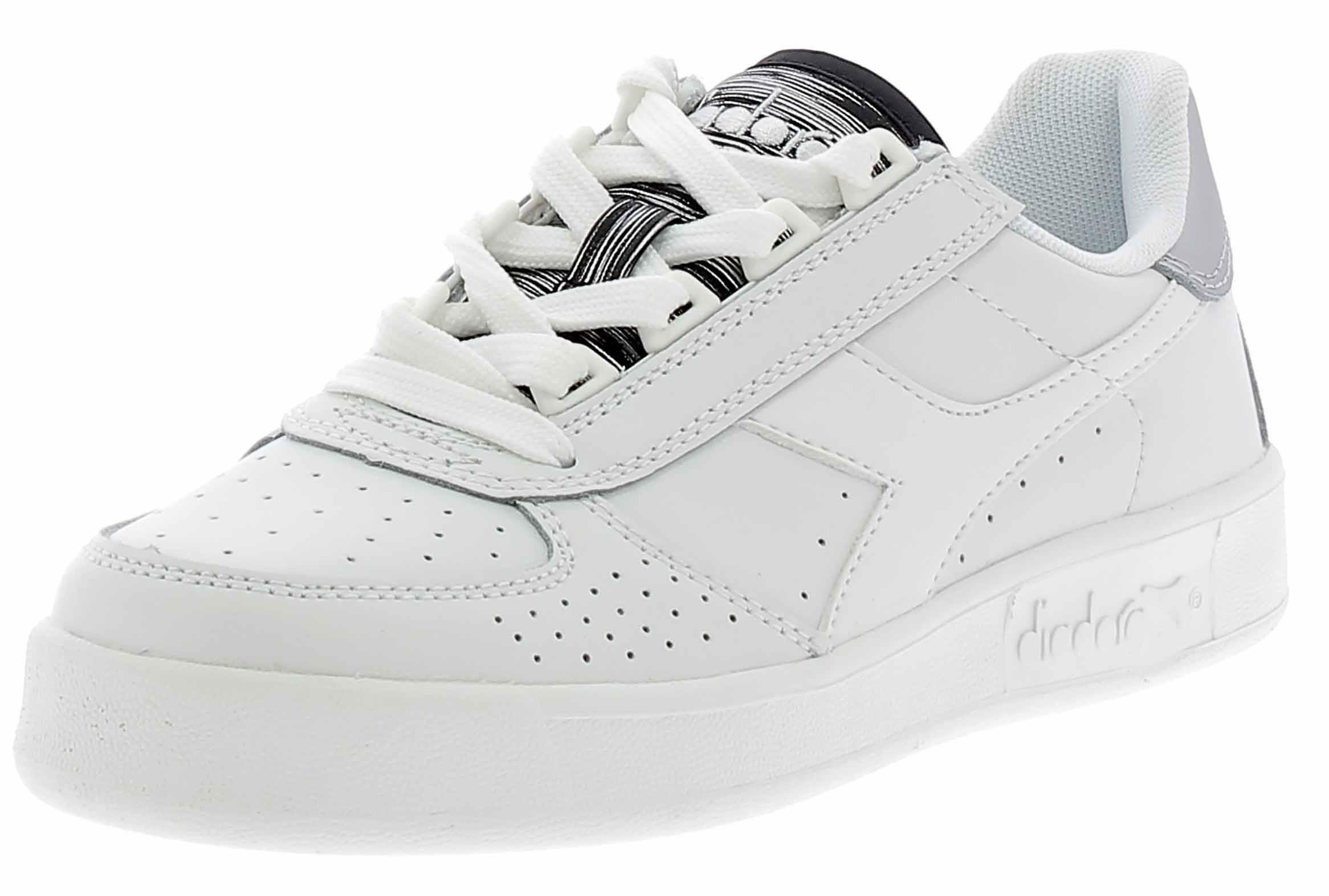 size 40 c9a07 8756b Diadora elite scarpe sportive donna bianche 17399301c0516