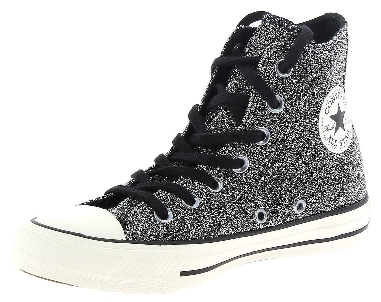 converse converse scarpe sportive grigie glitterate 562784c