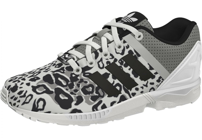 adidas zx flux split k scarpe sportive bambina/o bianche tela s78735