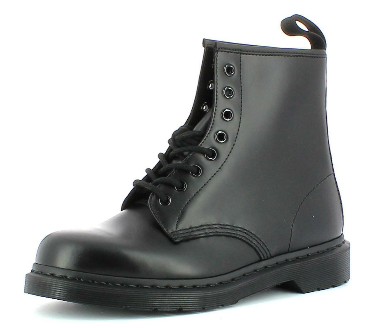 dr. martens scarponcini donna pelle neri