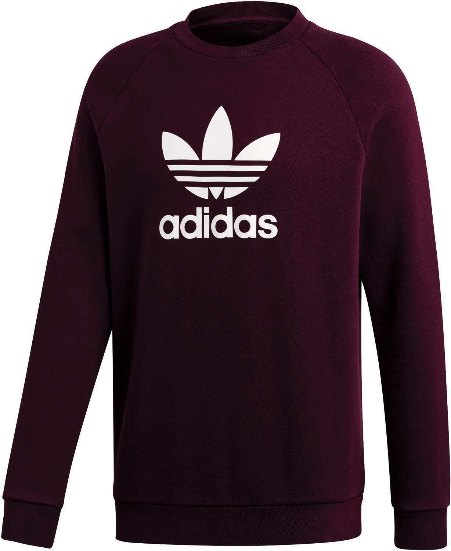 Adidas Kleeblatt Crew Herren Sweatshirt Lila DM7835      Lass unsere Waren in die Welt gehen