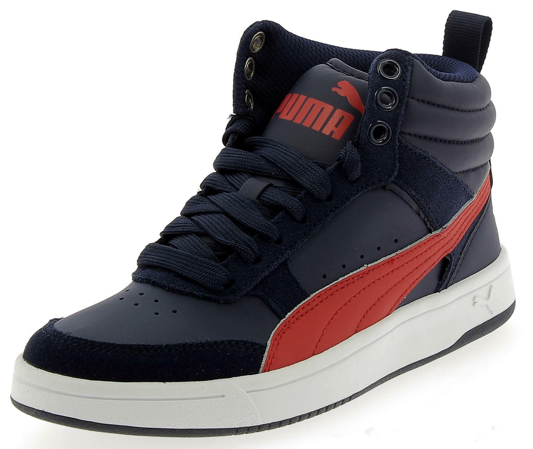 Puma rebound street v2 scarpe sportive bambino blu 36391708