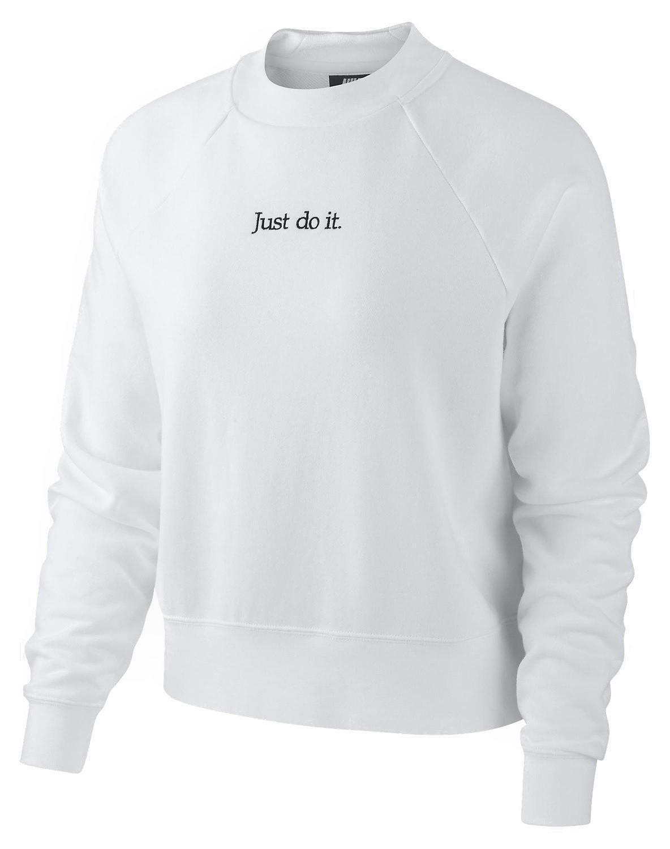 Camiseta De Larga Ah8207100 Nike Blanca Manga Detalles Kc53F1JuTl