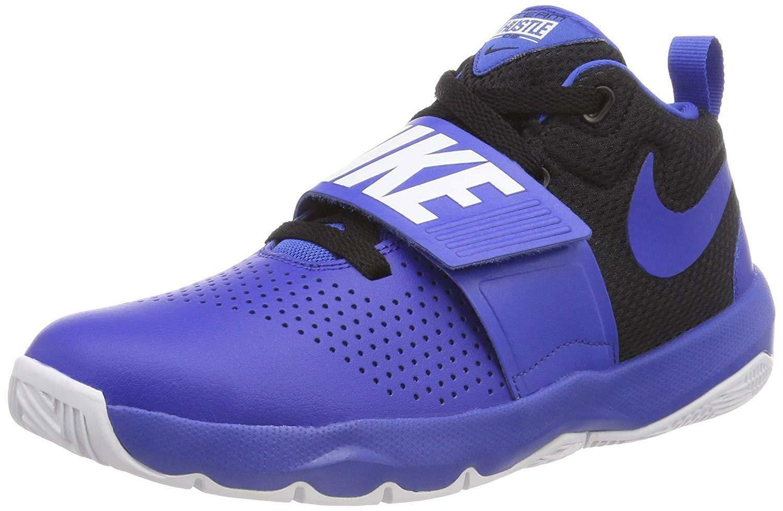 negozio online a92d2 5ad98 Nike team hustle d gs scarpe basket bambino blu 881941405