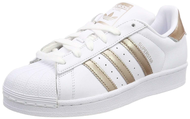 scarpe adidas superstar bianche oro