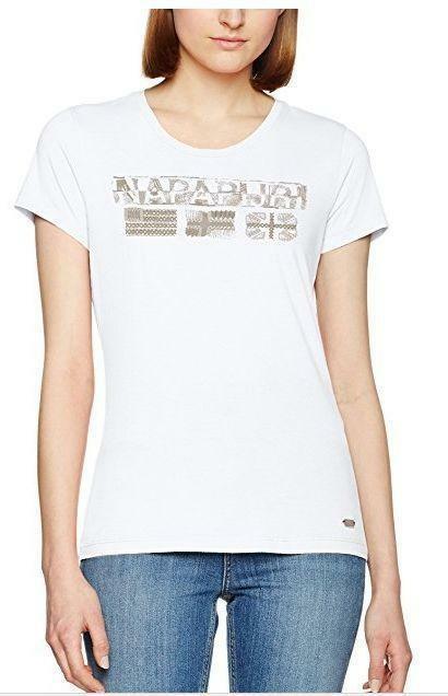 napapijri shalvey t-shirt donna bianca