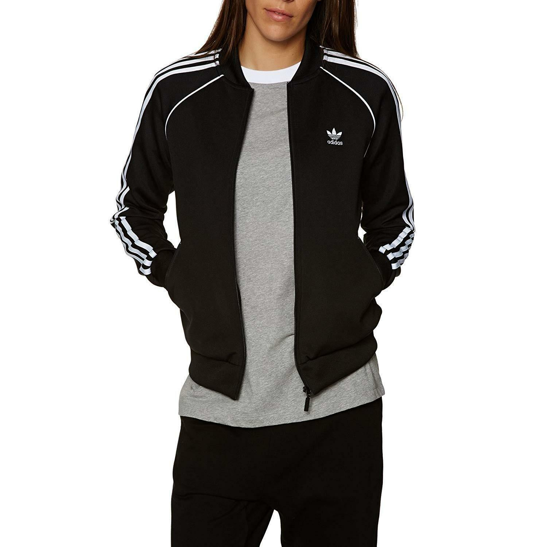 adidas adidas sst tt giacchetto donna nero ce2392