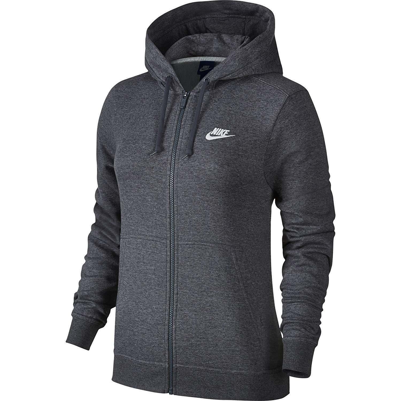 Details zu Nike Damen Fleecejacke Grau 853930071