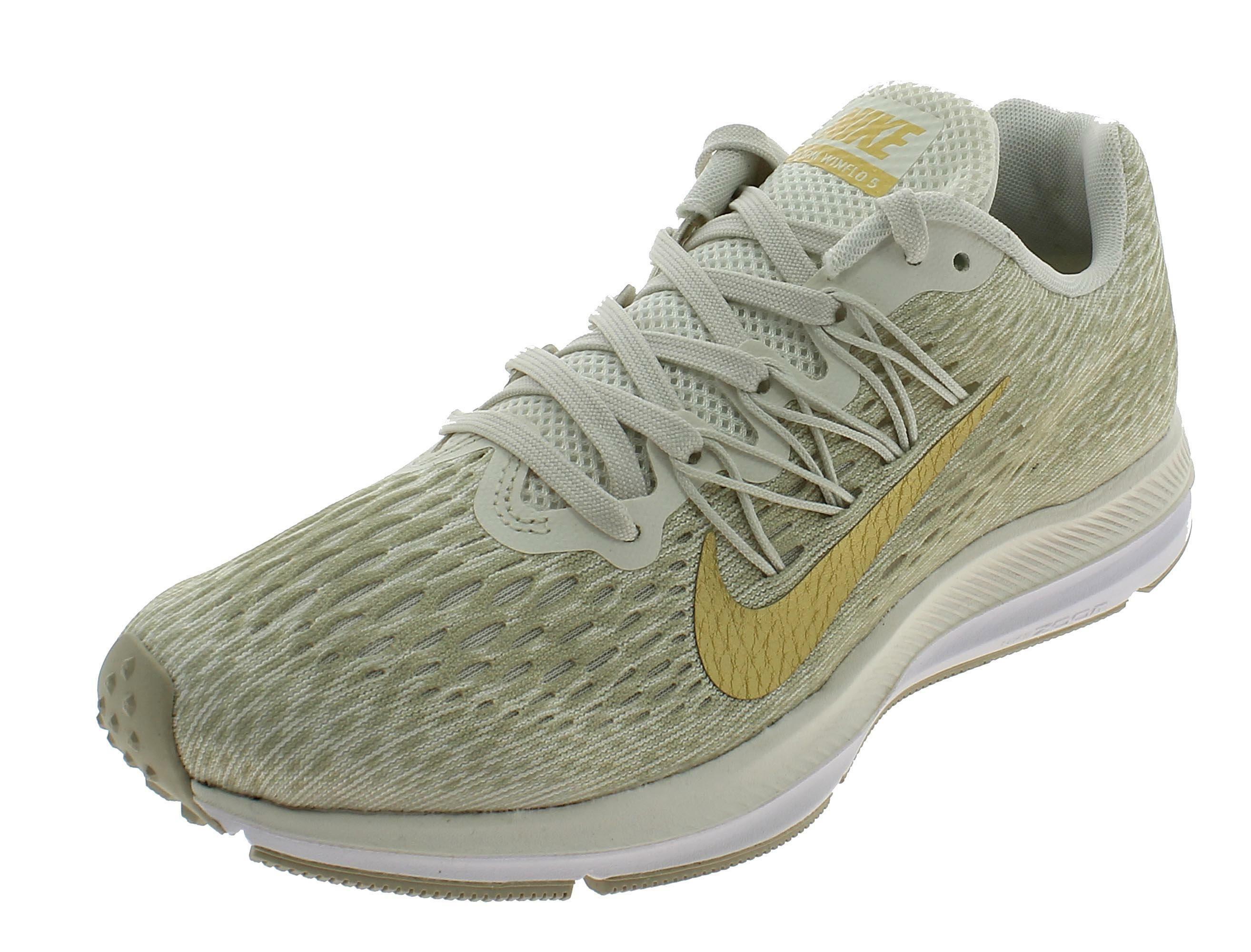 nike zoom winflo 5 scarpe sportive donna beige aa7414008