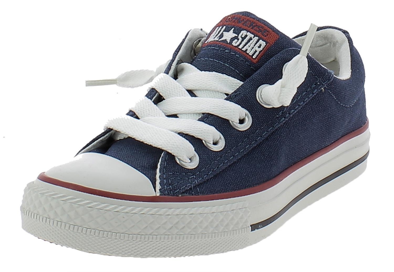 converse converse all star ct street slip navy scarpe bambino blu tela 637742c