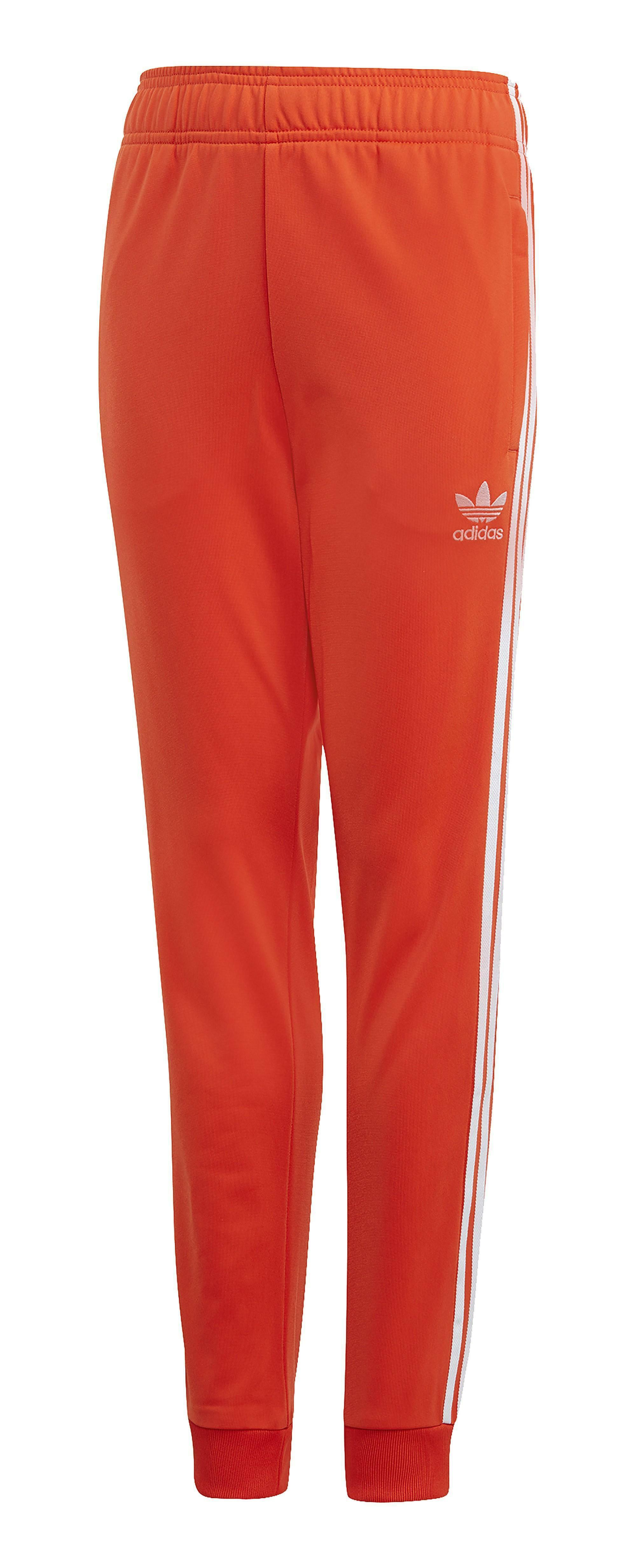 adidas adidas superstar pantalone bambino arancione dv2881