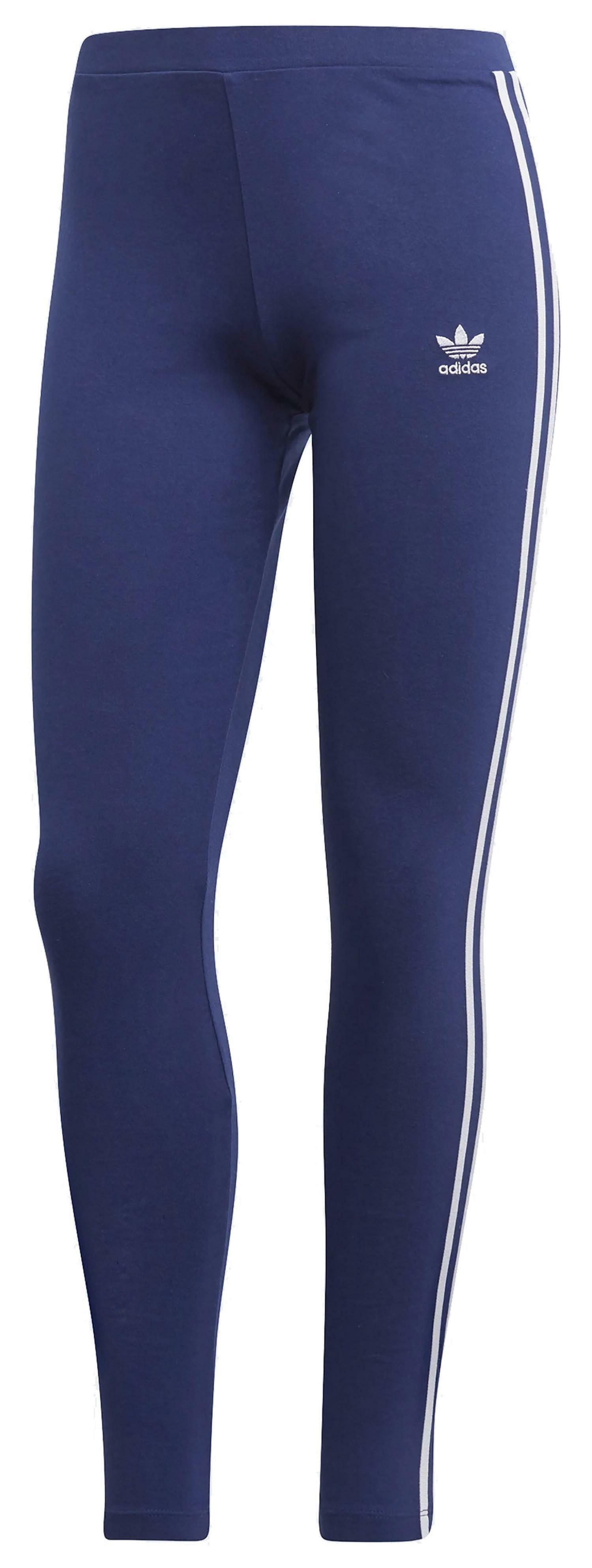 adidas 3 str tight leggings donna blu dv2615