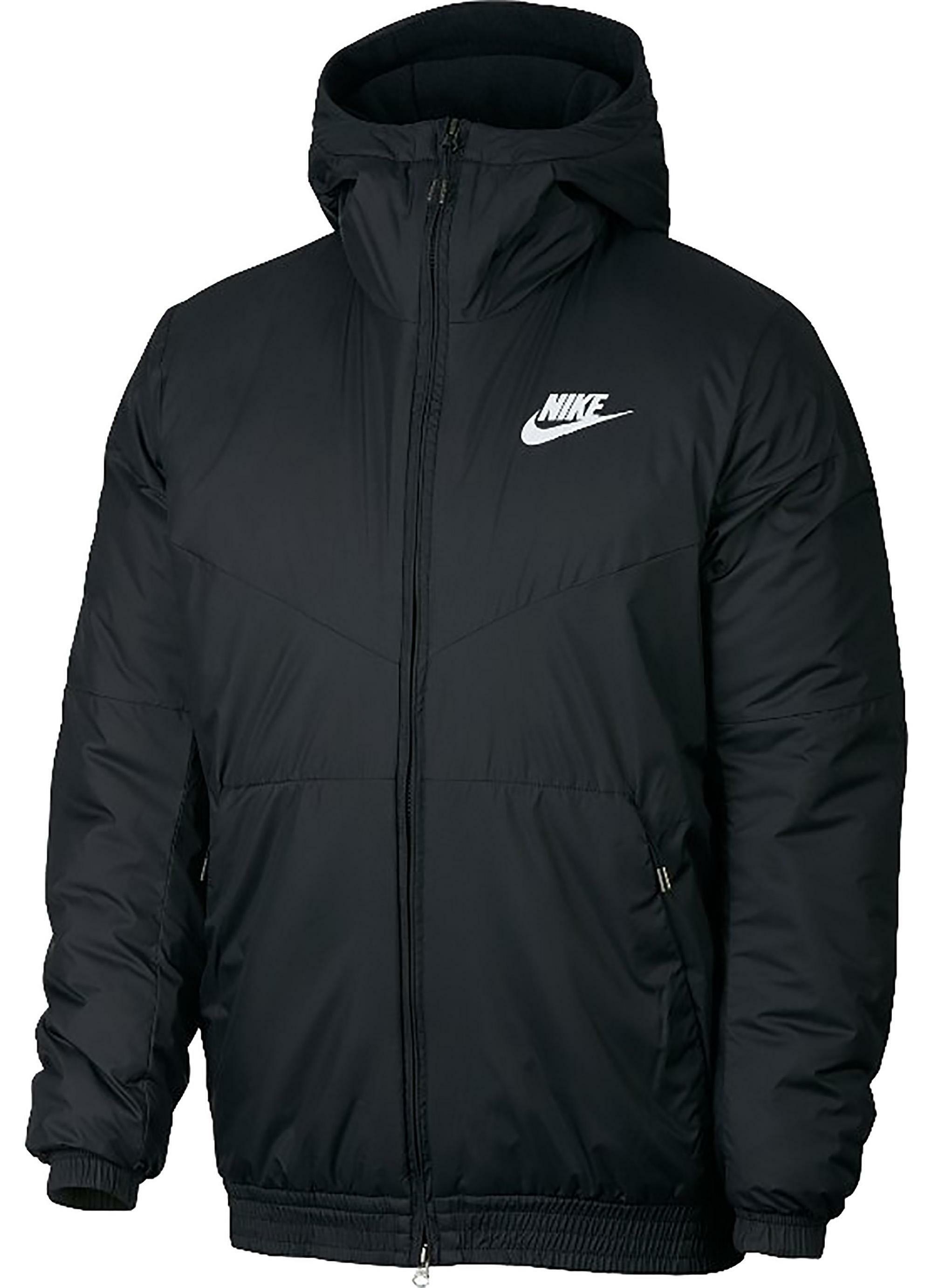 prezzo competitivo 74905 8b594 Nike giubbotto uomo nero 928861010