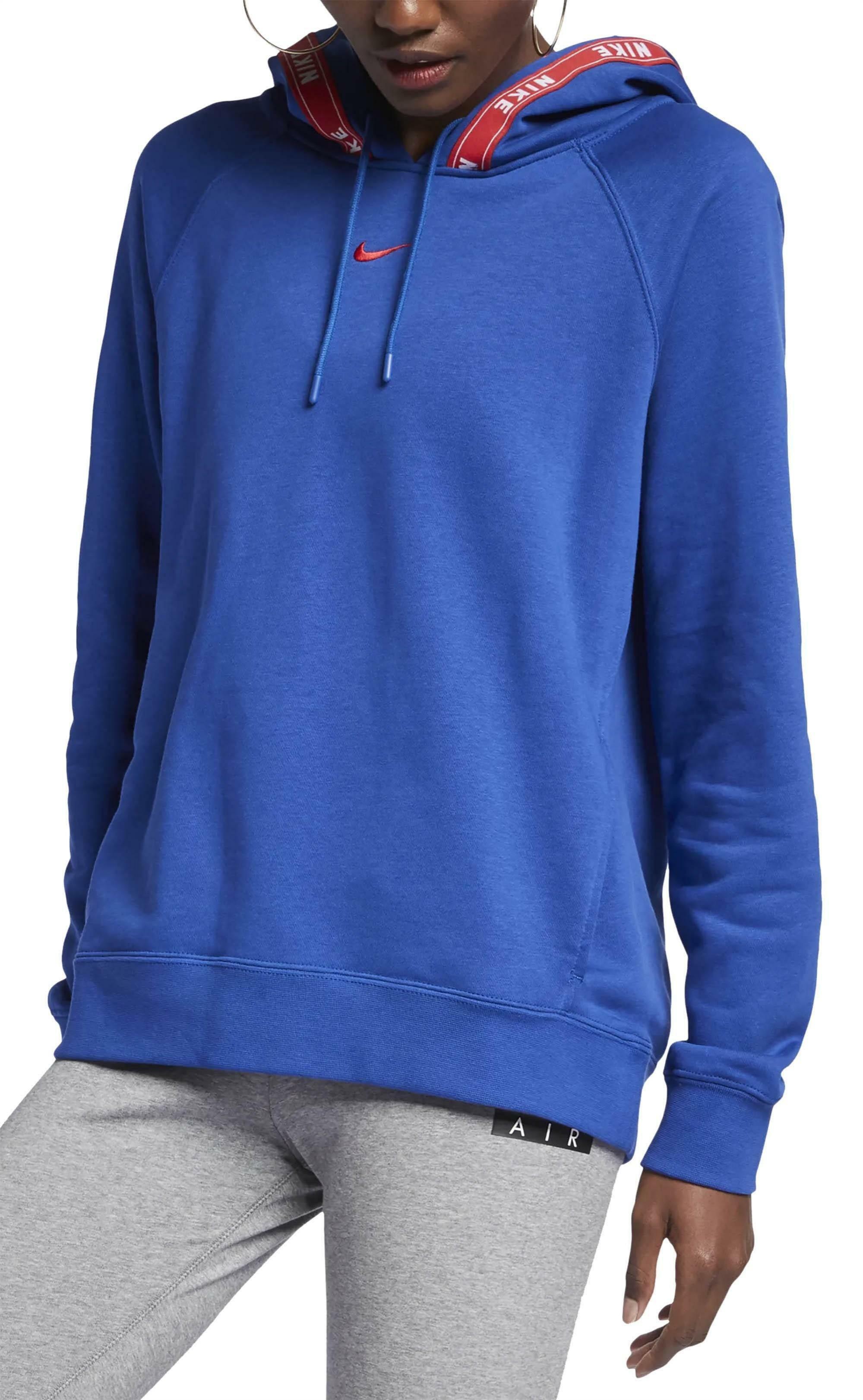 Nike felpa donna blu garzata ar3058438