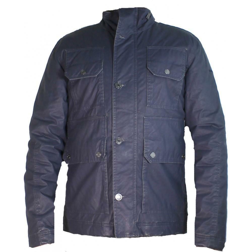 calvin klein jeans giubbotto uomo blu vintage cml588