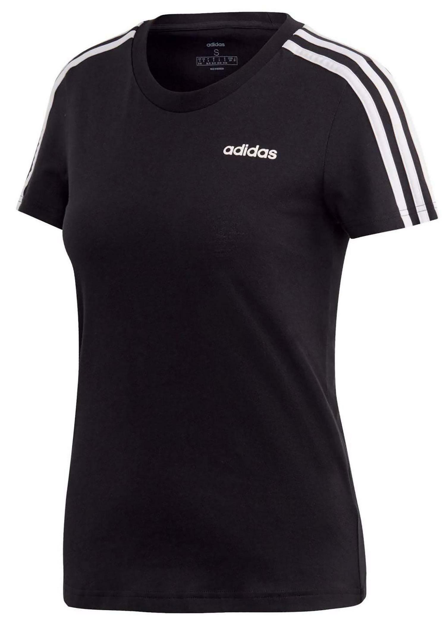 adidas W E 3S Slim Tee Damen T-Shirt Tee Top  DP2362