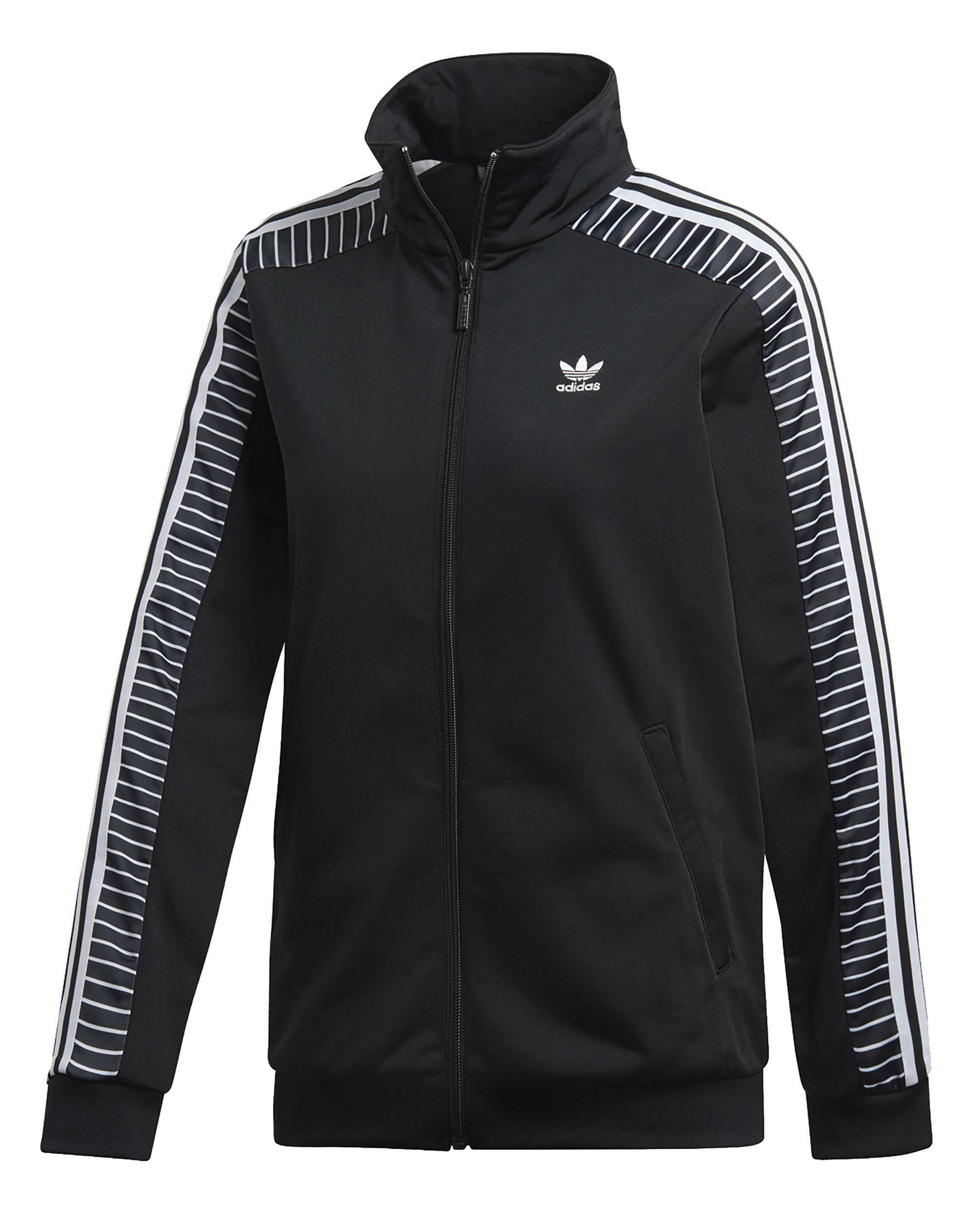 finest selection 21b9c c7d1b Adidas track top giacchetto donna nero du9879