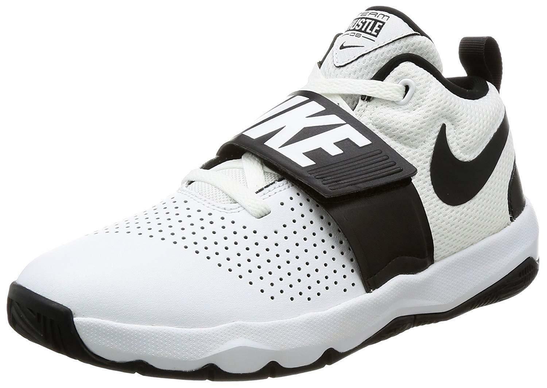 Détails sur NIKE Team Hustle D Gs Kids Chaussures de basket ball Blanc 881941100