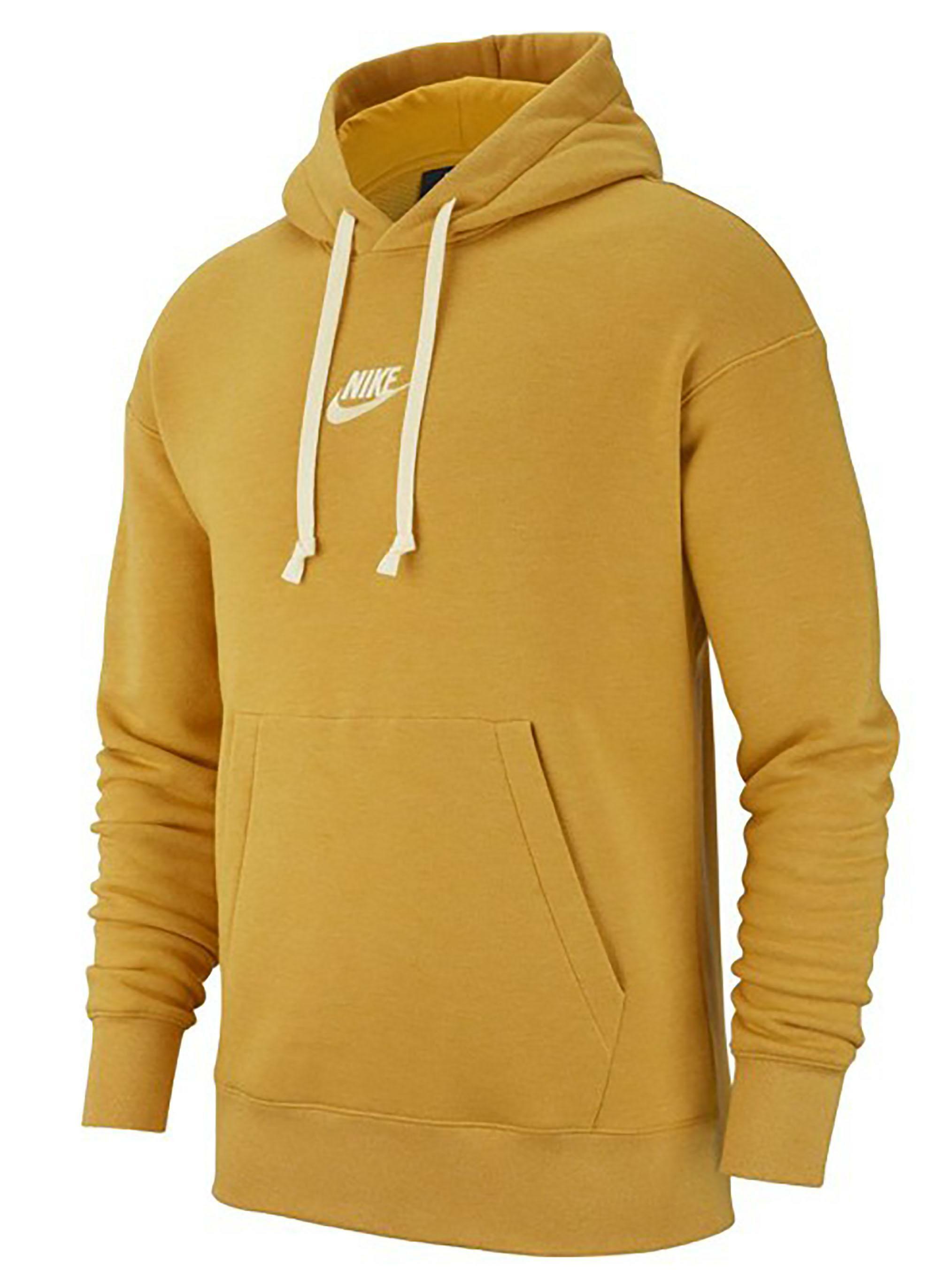 Felpa Con Nike Giallo Ocra 928437711 Cappuccio Uomo lJKcF1