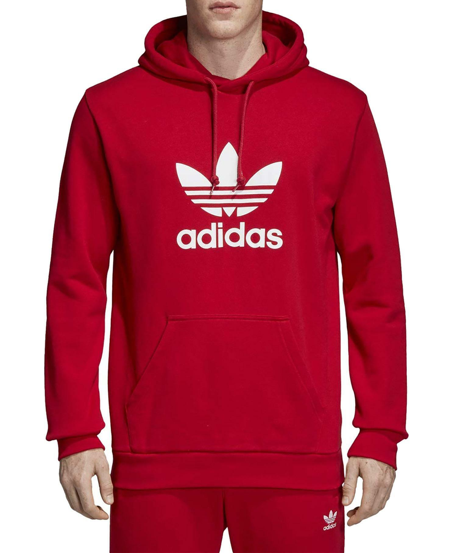 adidas trefoil hoodie felpa uomo