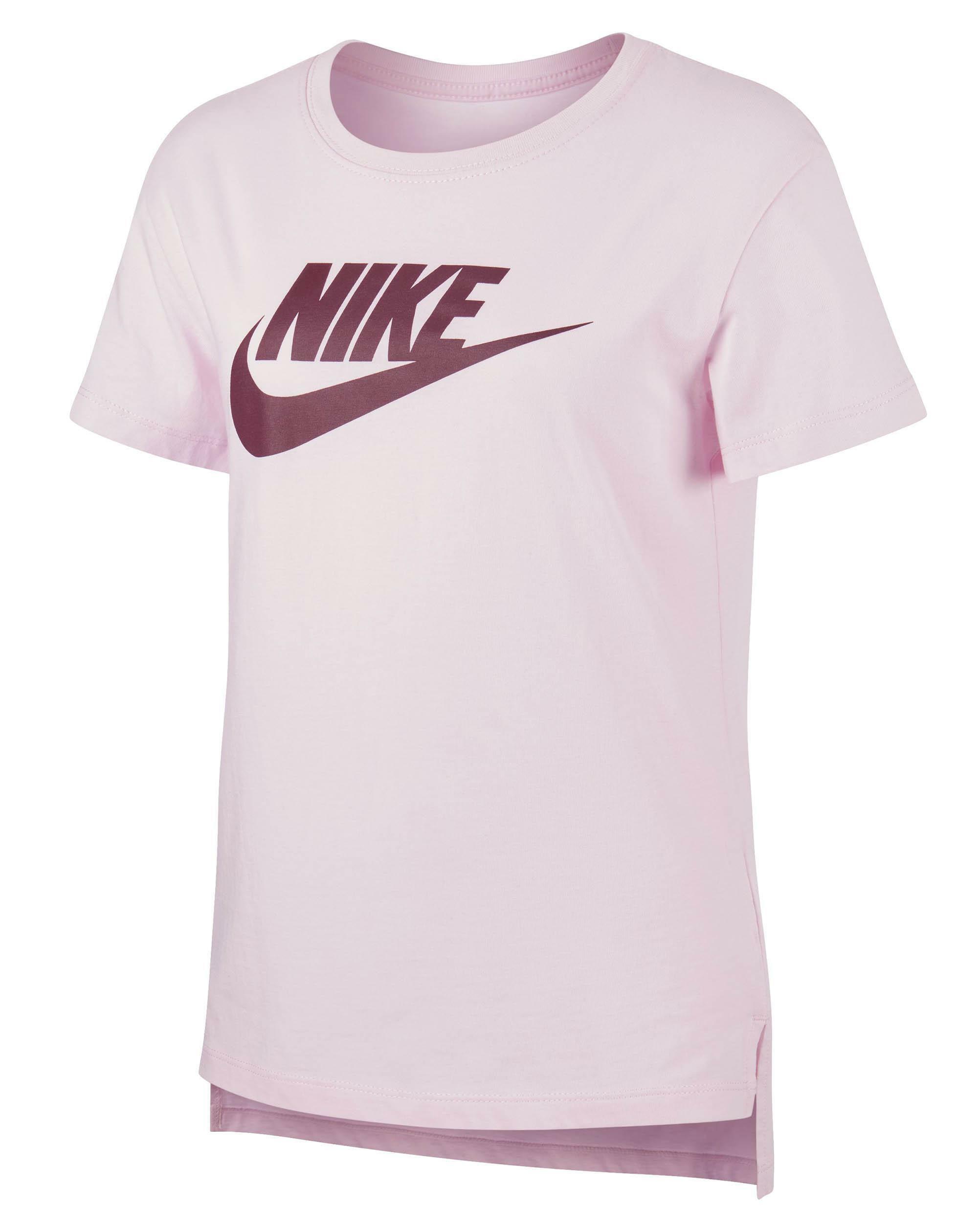 nike t-shirt donna rosa nike ar5088663