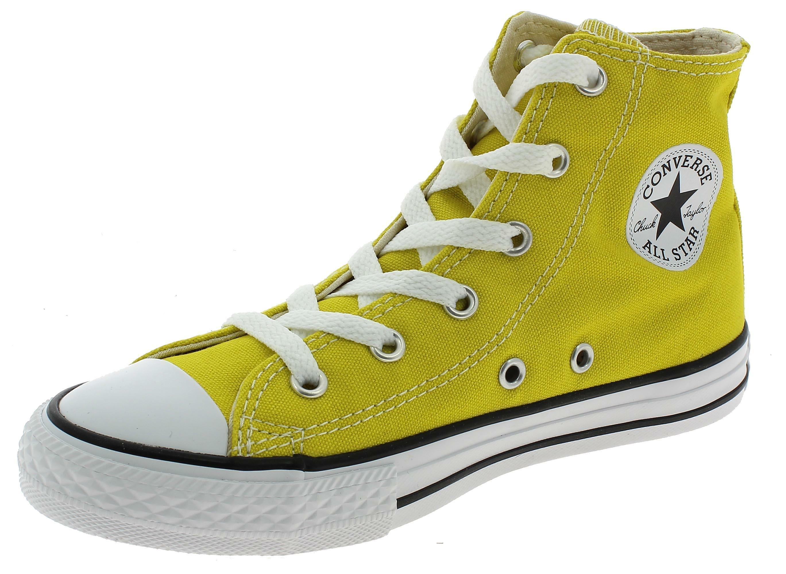 scarpe converse gialle bambina
