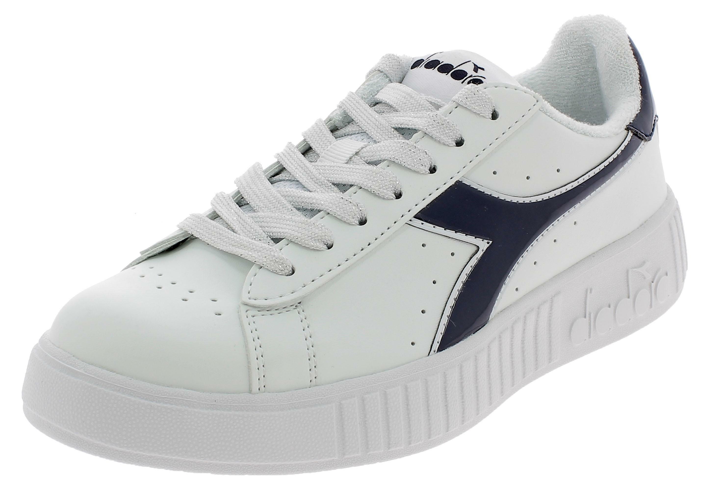 Diadora game p step scarpe sportive donna bianche 17436560063