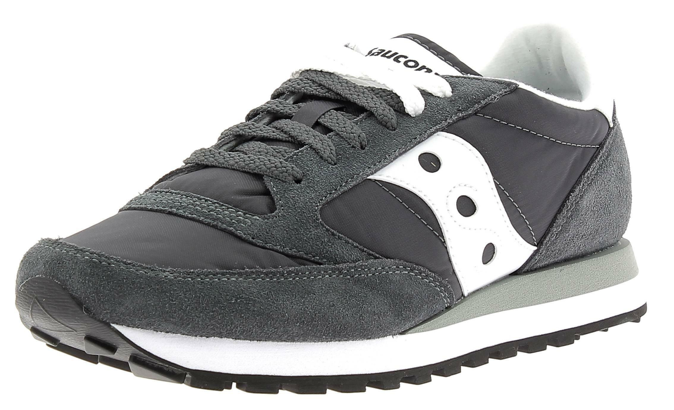 saucony saucony jazz original scarpe uomo grigie bianche